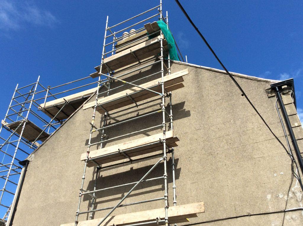 Chimney stack repair and chimney flue relining Dublin city